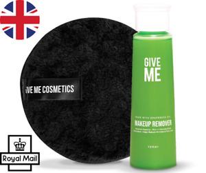 Give Me Makeup Remover Grapeseed Oil & Eco Pad Bundle Reusable UK FREE P&P