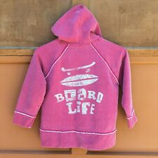 Mini Boden Hoodie - Size 5/6 - Boys Girls Kids - Board Life Surf - Pullover
