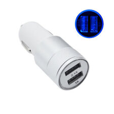 Universal In Car Charger Light Socket Adapter PlugDual USB Twin Port 12V/24V SL