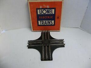 Vintage Lionel Electric Trains O Gauge 90-Degree CROSSING No. 020 Original Box