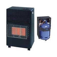 4.2Kw Portable Home Butane Fire Calor Gas Cabinet Heater With Regulator Hose New