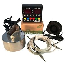 ATC Q master Temperature Weber Smokey Mountain BBQ Draft pit Controller WSM Temp