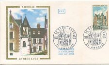 FIRST DAY COVER / 1° JOUR FRANCE / LE CLOS LUCE / AMBOISE 1973