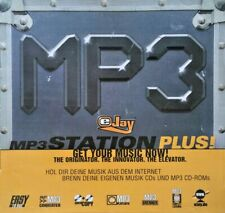 EJay mp3 Station Plus-Musik-Software-PC CD-ROM (Disc in Hülle)