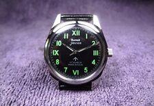 HMT Jawan, black dial, vintage looking watch