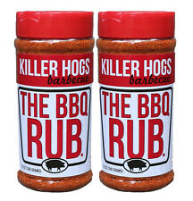 Killer Hogs The BBQ Rub Barbecue Seasoning 12 oz (2 Pack)