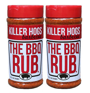 Killer Hogs The BBQ Rub Barbecue Seasoning 16 oz (2 Pack)