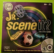 Jr. Scene It? - DVD Game - New & Sealed in Plastic