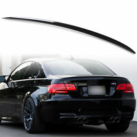 BMW E92 Painted Gloss black  E92 COUPE 2D ABS BOOT LIP SPOILER M3 STYLE OME FIT