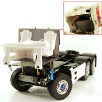 Metalllenkung Servo Mount Cab Bodenplatte Shell für 1/14 Tamiya RC Traktor Teile