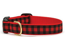 Up Country - Dog Design Collar - Made In USA - Buffalo Check - XS S M L XL XXL