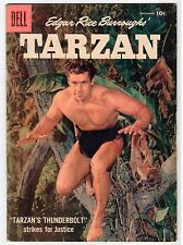 Dell Edgar Rice Burroughs TARZAN #99 - G/VG 1957 Vintage Comic