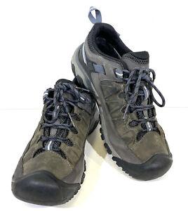 Keen Targhee III Low WP Men's Size 10.5 Gray Trail Hiking Shoes H1-21*