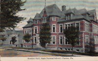 Postcard Science Hall State Normal School Clarion PA