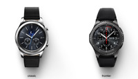 Samsung Gear S3 CLASSIC / FRONTIER 46mm Bluetooth Smartwatch Dark Gray Open Box
