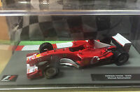 "DIE CAST "" FERRARI F2002 - 2002 MICHAEL SCHUMACHER "" FORMULA 1 COLLECTION 1/43"