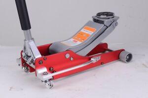 Liftmaster 2.5 Ton Aluminium /Steel 75mm Low Profile High Lift Trolley Race Jack