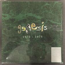 GENESIS 1970-1975 200 GR. 1/2 SPEED LTD TO 1000 RARE SEALED 5 LP vinyl BOX SET