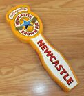 The One & Only New Castle Brown Ale Orange Beer Tap Handle For Kegerators *READ*