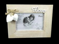"Wooden 10x15 Photo Frame ""Love"" Home Decoration"