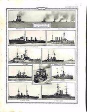 Cruisers Royal Navy London/Euryalus/Triumph Dardanelles Gallipoli UK 1915 WWI