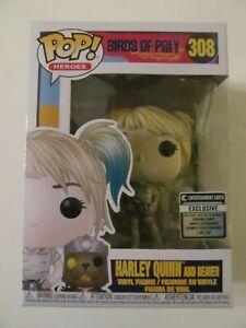 Funko Pop! Vinyl - Birds of Prey - EE Exclusive - Harley Quinn & Beaver