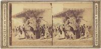 Italia Acquajolo Amodio & Sprüngli Napoli Stereo Vintage Albumina Ca 1865