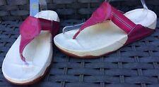 Fitflop Walkstar Pink Thong Slide  Toe Post Sandals Size 8