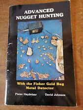 New listing Fisher Gold Bug Metal Detector Manual Book