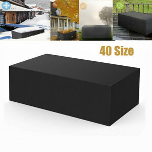 40 Size Outdoor Cover Garden Furniture Waterproof Patio Rattan Table Chair Cube