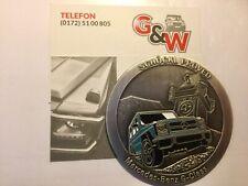 Mercedes G Emblem Abzeichen Plakette G-Modell G-Klasse Schöckl Proved AMG PUCH G