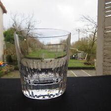 très grand verre à bière en cristal de baccarat modèle  piccadilly signé
