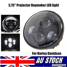 "5-3/4"" Daymaker Hid LED Light Bulb Headlight 4 Harley Sportster XL883 XL1200"