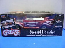 "✅ Joy Ride Convertible Greased Lightning 1:18 Scale Die-Cast ""Grease"" #37257 NEW"