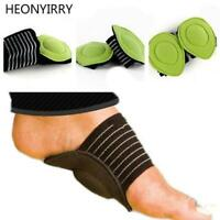 Shocking Foot Arch Support Plantar Fasciitis Heel Pain Aid Feet Cushioned Useful