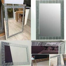 40x60cm Large Jewel Diamante / Glitter / Starburst Wall Mirror Rectangle Shape