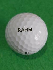 "2017 issue Rory jon rahm Golf Ball - TP5x - ""RAHM"" rare PEARL condition"