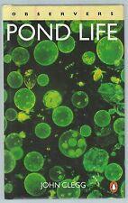 Observers Pond Life John Clegg Penguin/Bloomsbury 1992 Hardback Good+ Condition