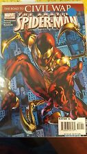 amazing Spiderman Comic 529 first edition NM first iron suit nice book bagged bo