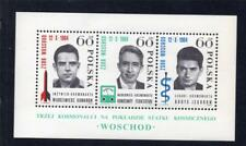 POLAND MNH 1964 MS1527a RUSSIAN THREE MANNED SPACE FLIGHT
