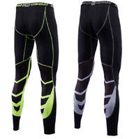 Mens Compression Base Layer Skins Pants Sport Leggings Athletic Bottoms Trousers
