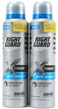 2 Right Guard Xtreme Arctic Refresh Dry Spray up to 96 Hours Protection. 4.0 oz