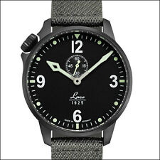 Laco Automatic Pilot Watch with Black PVD Case, Sapphire Crystal #861909