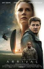 ARRIVAL MOVIE POSTER 2 Sided ORIGINAL FINAL 27x40 AMY ADAMS JEREMY RENNER