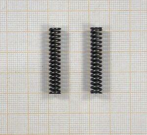 2 x Druckfeder, Länge 31,5mm - Außen Ø6mm - Draht Ø1,2mm    (307)