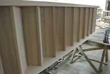 solid hardwood staircases (beech, ash, oak) - top quality, 3 coats varnished