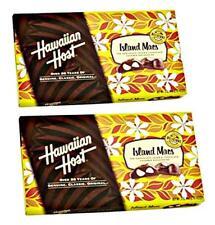 HAWAII HAWAIIAN HOST ISLAND MACS CHOCOLATE COVERED MACADAMIAS NUTS 5 BOX PACK