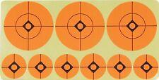 Adesivo Arancione Bersaglio Punti 2.5cm & 5.1cm Aria Fucile Compressa Pratica