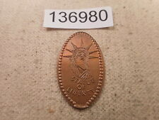 Elongated Cent Rolled Coin Statute of Liberty Nice Collectible - # 136980