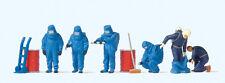 Preiser 10729 Bomberos, Azul Vollschutzanzug H0